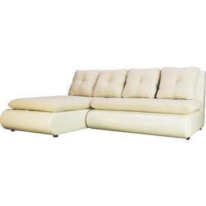 Диван угловой SettySet Кормак МИНИ белый угловой диван woodcraft кормак угловой модуль с ящиком
