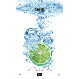 цена на Газовая колонка Zanussi GWH 10 Fonte Glass Lime