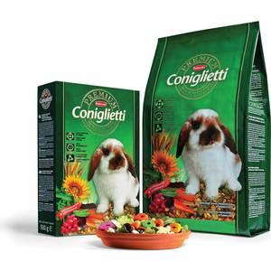 Корм Padovan PREMIUM Coniglietti комплексный основной для кроликов и молодняка 2кг корм для птиц vitakraft menu vital для волнистых попугаев основной 1кг