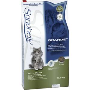 Сухой корм Bosch Petfood Sanabelle Grande для кошек крупных пород 10кг сухой корм bosch petfood totally ferret active корм для хорьков 1 75кг