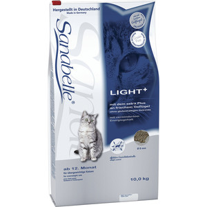 Сухой корм Bosch Petfood Sanabelle Light низкокаллорийный для кошек 10кг bosch bosch sanabelle vitality snack