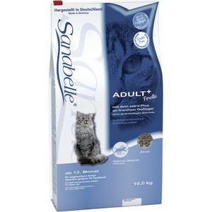 Сухой корм Bosch Petfood Sanabelle Adult Trout с форелью для взрослых кошек 10кг сухой корм bosch petfood adult maxi для взрослых собак крупных пород 15кг
