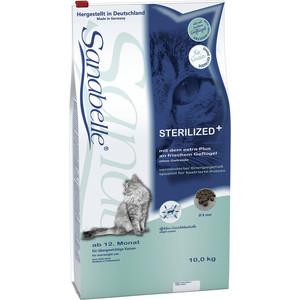 Сухой корм Bosch Petfood Sanabelle Sterilized для стерилизованных кошек 10кг сухой корм bosch petfood totally ferret active корм для хорьков 1 75кг