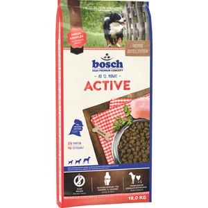 Сухой корм Bosch Petfood Active для активных собак всех пород 15кг сухой корм bosch petfood adult maxi для взрослых собак крупных пород 15кг