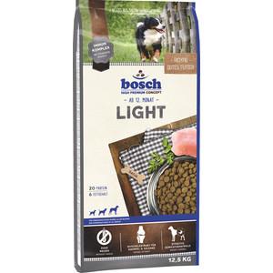 Сухой корм Bosch Petfood Light низкокаллорийный для взрослых собак 12,5кг сухой корм bosch petfood adult maxi для взрослых собак крупных пород 15кг