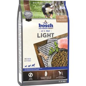 Сухой корм Bosch Petfood Light низкокаллорийный для взрослых собак 2,5кг