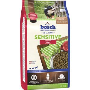 Сухой корм Bosch Petfood Sensitive Lamb & Rice с ягнёнком и рисом для чувствительных собак 1кг сухой корм bosch petfood totally ferret active корм для хорьков 1 75кг