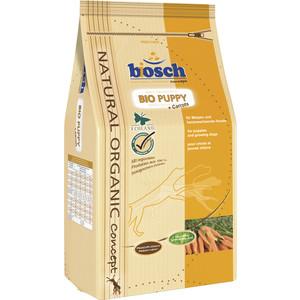 Сухой корм Bosch Petfood Bio Puppy с морковью для щенков 3,75кг сухой корм bosch petfood totally ferret active корм для хорьков 1 75кг