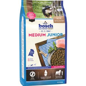 Сухой корм Bosch Petfood Junior Medium для щенков средних пород 1кг
