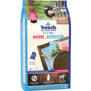 Сухой корм Bosch Petfood Junior Mini для щенков мелких пород 1кг