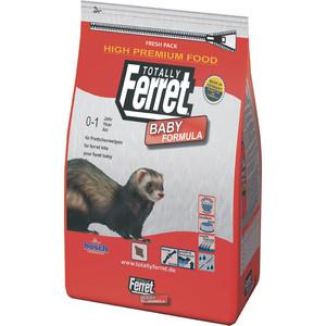 Сухой корм Bosch Petfood Totally Ferret Baby для щенков хорьков 1,75кг сухой корм bosch petfood totally ferret active корм для хорьков 1 75кг