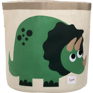 Фотография товара 3 Sprouts Корзина для хранения Динозаврик (Green Dinosaur) (27252) (608658)