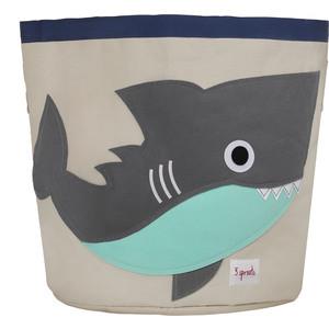 3 Sprouts Корзина для хранения Серая акула (Grey Shark SPR213) (00022)