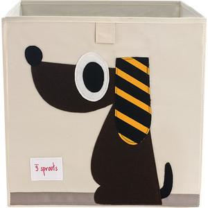 3 Sprouts Коробка для хранения Собачка (Brown Dog) (67621)