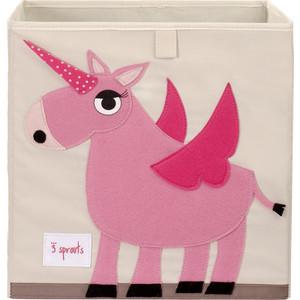 3 Sprouts Коробка для хранения Единорог (Pink Unicorn) (67391)