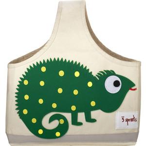 Фотография товара 3 Sprouts Сумочка для хранения детских принадлежностей Игуана (Green Iguana) (00009) (608680)
