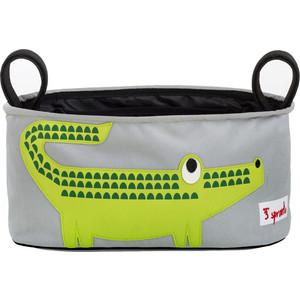 3 Sprouts Сумка-органайзер для коляски Крокодил (Green Crocodile) (72840)