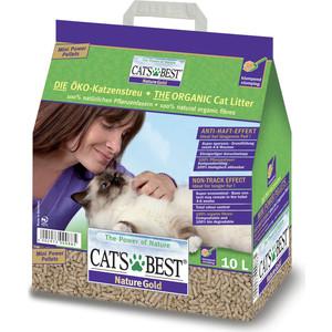 Наполнитель Cat's Best Nature Gold древесный комкующийся для кошек 5кг (10л)