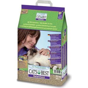 Наполнитель Cat's Best Nature Gold древесный комкующийся для кошек 10кг (20л)