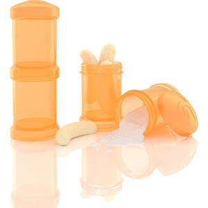 Twistshake Контейнер для сухой смеси 2 шт. 100 мл. Оранжевый (780025) контейнер для смеси
