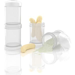 Twistshake Контейнер для сухой смеси 2 шт. 100 мл. Белый (780028)