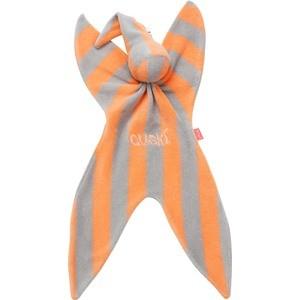 Cuski Комфортер FIZZY из хлопка. Оранжевый в серую полоску (00920)