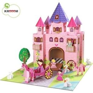 Krooom Игрушки из картона: набор Замок принцессы Тринни (k-219) развивающие игрушки krooom из картона stack