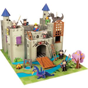 Krooom Игрушки из картона: набор Рыцарский замок Артура (k-220)