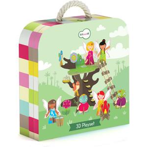 Krooom Игрушки из картона: 3D набор Сказочное дерево (k-327) развивающие игрушки krooom из картона stack