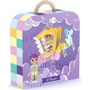 Krooom Игрушки из картона: 3D набор Принцесса Ирис (k-332)