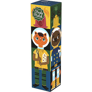 Krooom Игрушки из картона: Stack&Match кубики Приключения (k-442)