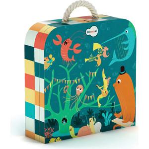 цены Krooom Игрушки из картона: пазл Морские животные (k-601)
