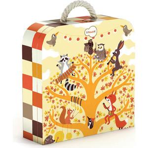 Krooom Игрушки из картона: пазл Лесные животные (k-602) развивающие игрушки krooom из картона stack