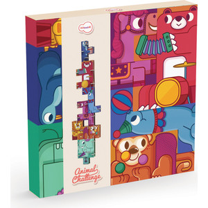 Krooom Игрушки из картона: набор для путешествий Кроличья пекарня (k-340) educa пазл пекарня
