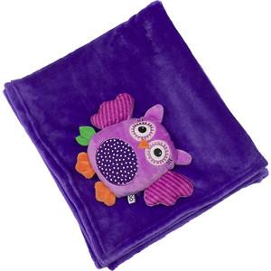 Zoocchini Одеяло с игрушкой Сова / фиолетовое (00516)