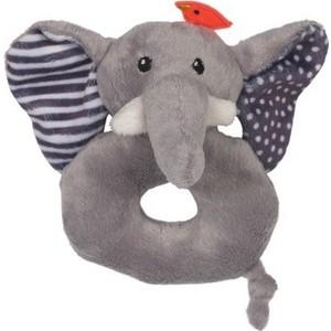 Zoocchini Погремушка Слон / серая (00527)