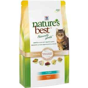 Сухой корм Hill's Natures Best Adult with Tuna с тунцом и овощами для кошек 2кг (4199) hills natures best сухой корм для кошек тунец 300 гр