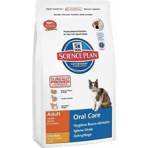 Сухой корм Hill's Science Plan Oral Care Adult with Chicken с курицей уход за полостью рта для кошек 1,5кг (7522) waterpulse professional oral care teeth cleaner irrigator electric oral irrigator dental flosser