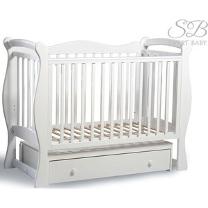 Фотография товара кроватка Sweet Baby Dolce Vita Bianco (Белый) (609164)