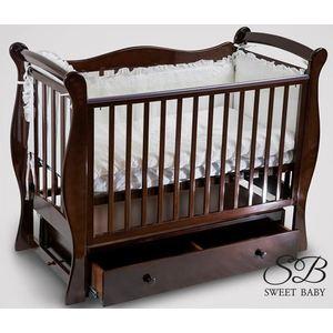 Кроватка Sweet Baby Dolce Vita Noce (Орех) кроватка mibb dado noce antico темный орех li030dna