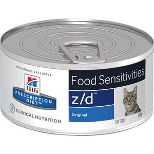 Консервы Hill's Prescription Diet z/ Food Sensitivities Original диета при лечении пищевых аллергий для кошек 156г (5661)