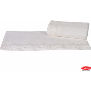 Полотенце Hobby home collection Almeda 50x90 см кремовый (1501000373)