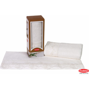 Полотенце Hobby home collection Almeda 50x90 см кремовый (1501000372) водолазка pettli collection pettli collection pe034ewvwc32