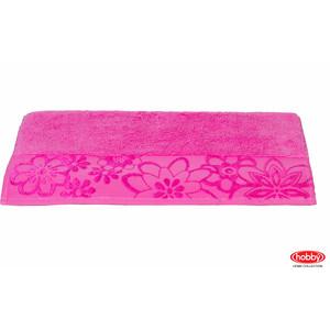 Полотенце Hobby home collection Dora 100x150 см темно-розовый (1501000432) цена