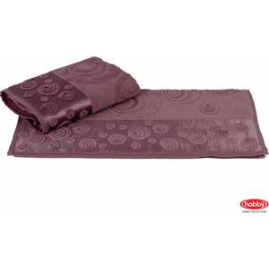 Полотенце Hobby home collection Feraye 50x90 см темно-фиолетовый (1501000766)