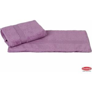 где купить  Полотенце Hobby home collection Firuze 70x140 см фиолетовый (1501001042)  по лучшей цене