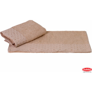 Полотенце Hobby home collection Gofre 50x90 см бежевый (1501000464)