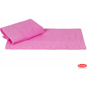 Полотенце Hobby home collection Gofre 50x90 см розовый (1501000468)