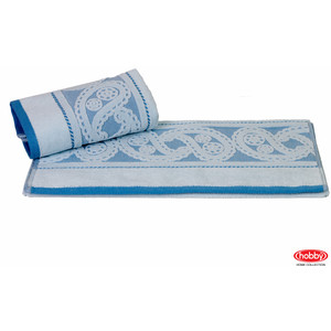 Полотенце Hobby home collection Hurrem 50x90 см голубой (1501000477) водолазка pettli collection pettli collection pe034ewvwc32