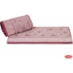 Полотенце Hobby home collection Hurrem 50x90 см розовый (1501000482) водолазка pettli collection pettli collection pe034ewvwc32